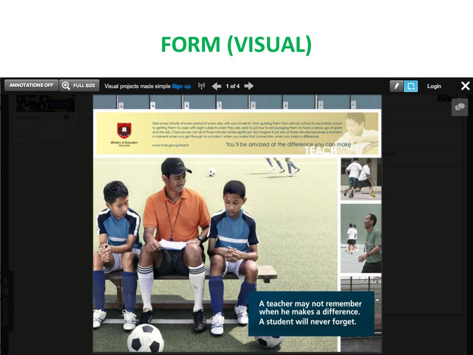 FORM (VISUAL)