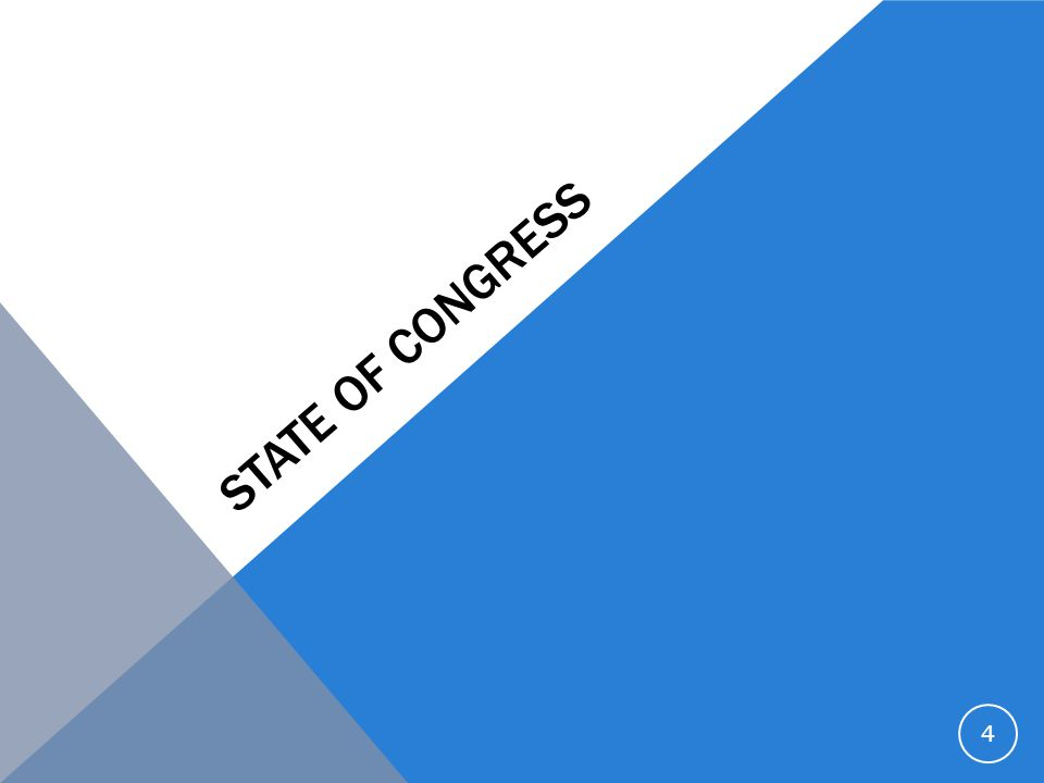 STATE OF CONGRESS 4