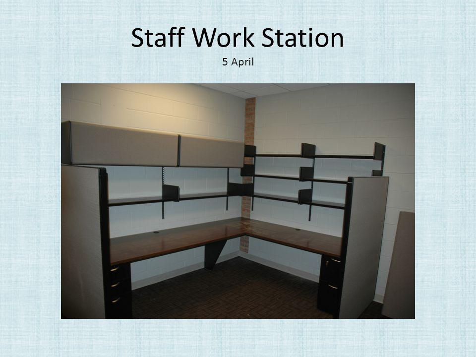 Staff Work Station 5 April