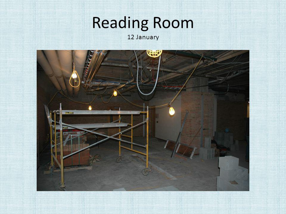 Reading Room 12 January