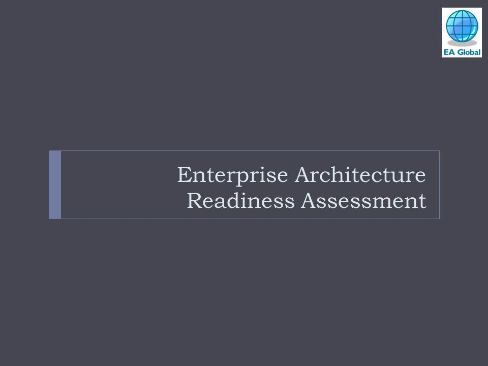 Enterprise Architecture Readiness Assessment