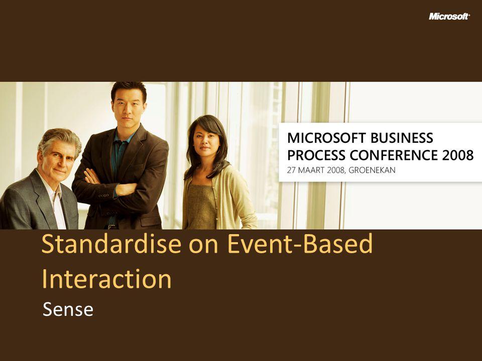 Standardise on Event-Based Interaction Sense