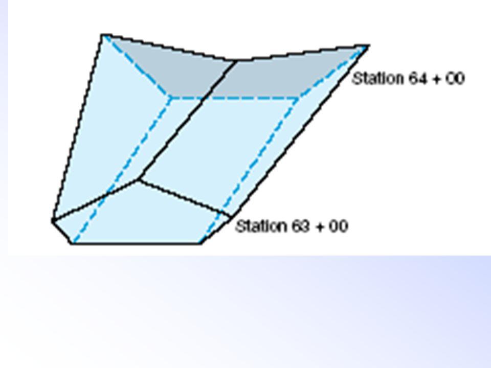 A 2 = 0 S A 1 = S 2 A M = (S/2) 2 = S 2 /4 h Vp = (h/6) *{S 2 + (4 S 2 /4) + 0 +} = (h/6) * 2 S 2 = (h/3) S 2 S/2