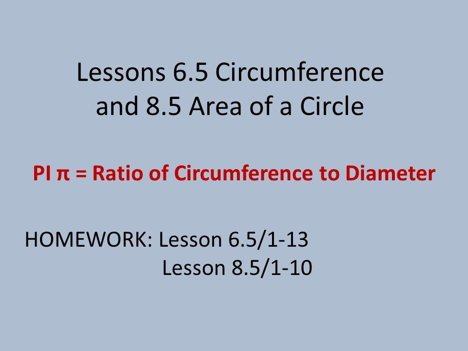 Circumference  Area exact approx.