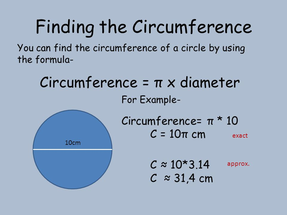 Example 1: Solution: The diameter of a circle is 3 centimeters.
