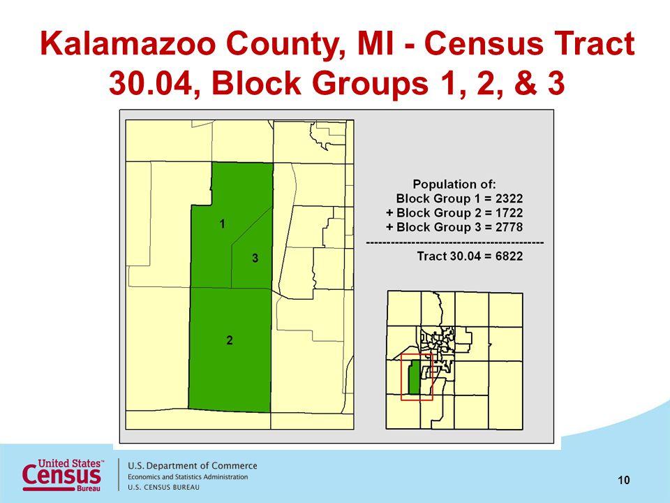 Kalamazoo County, MI - Census Tract 30.04, Block Groups 1, 2, & 3 10