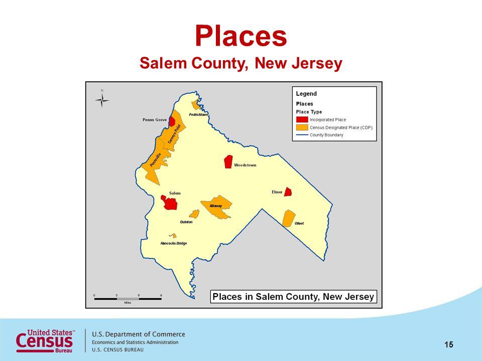 Places Salem County, New Jersey 15
