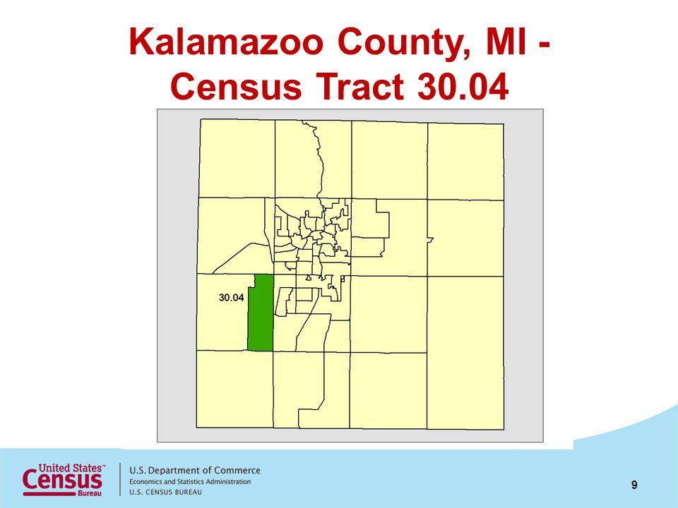 Kalamazoo County, MI - Census Tract 30.04 9