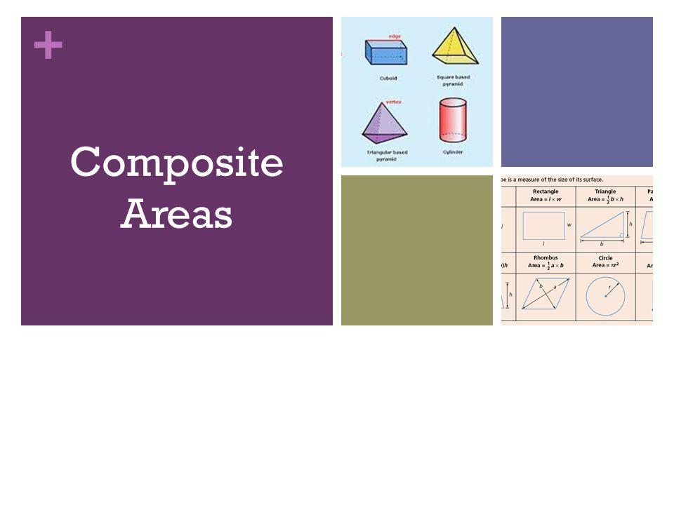 + Calculate all the areas! 3cm 8cm 5cm 7cm Rectangle Area = 56cm 2 4cm h