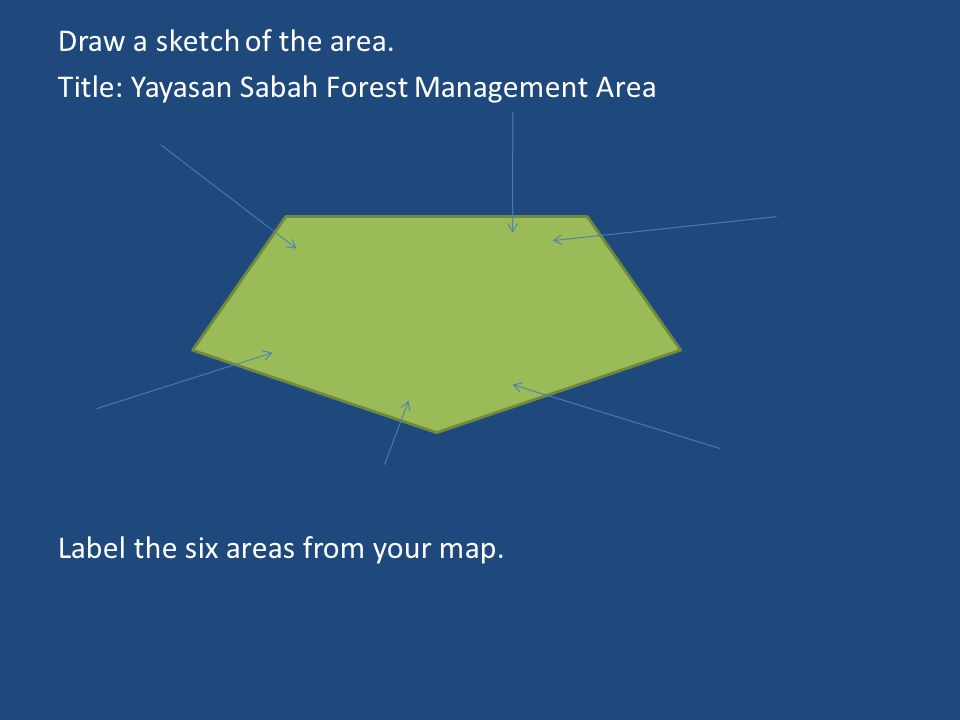 Draw a sketch of the area.