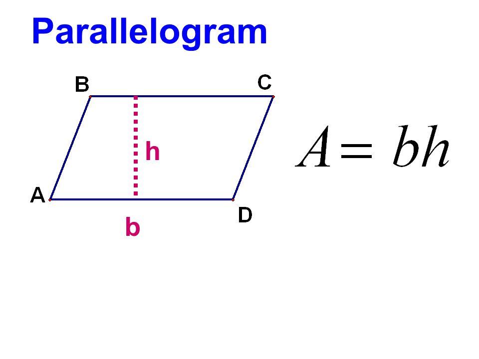 Parallelogram b h