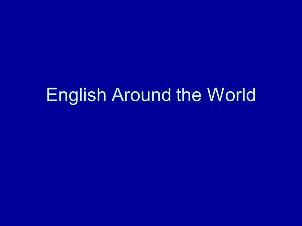 English Around the World