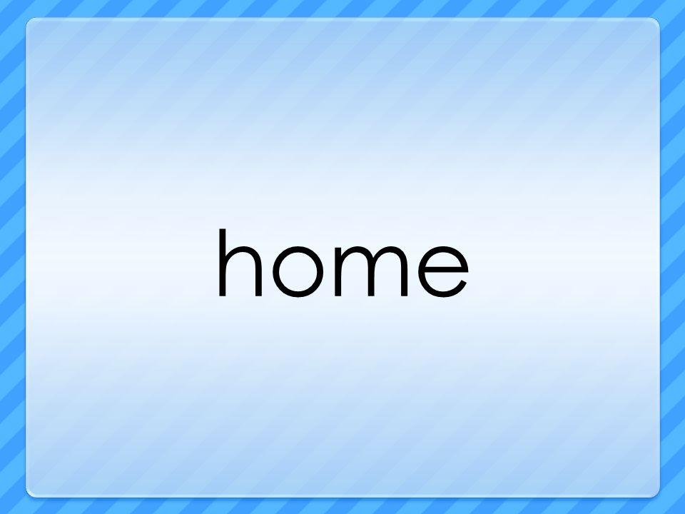 Thursday How are all houses alike?