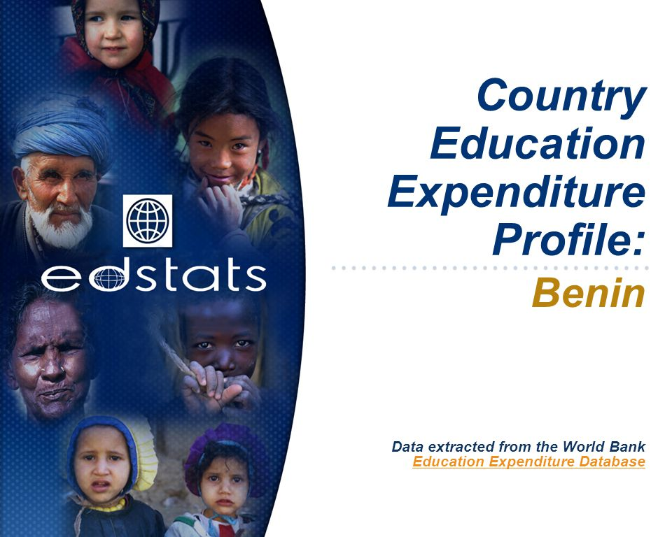 Country Education Expenditure Profile: Benin Data extracted from the World Bank Education Expenditure Database
