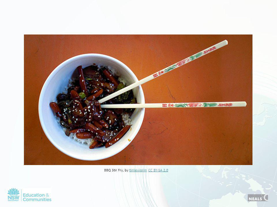 BBQ Stir Fry, by timlewisnm CC BY-SA 2.0timlewisnmCC BY-SA 2.0