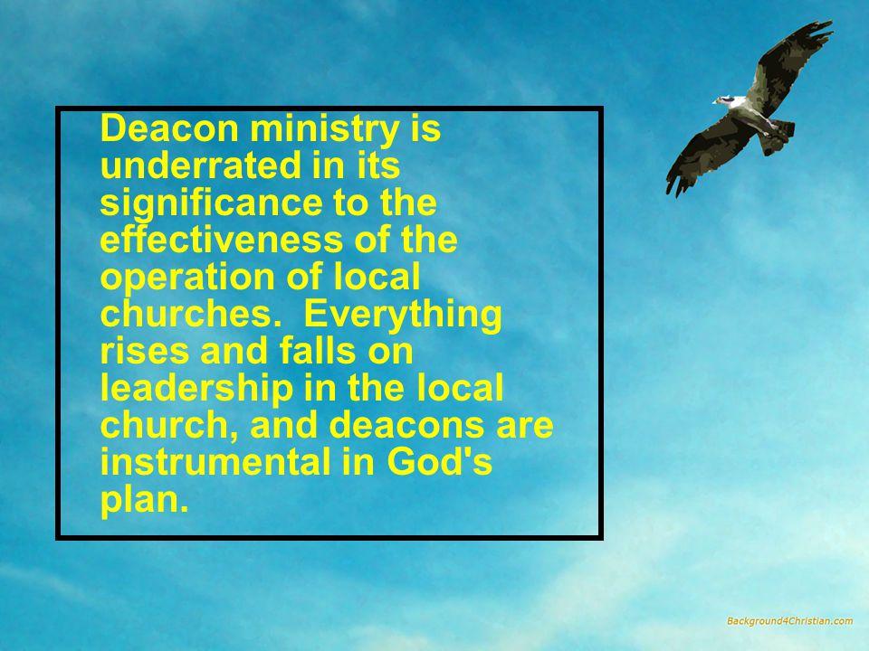 3.Deacons make better preachers (vv.2, 4).