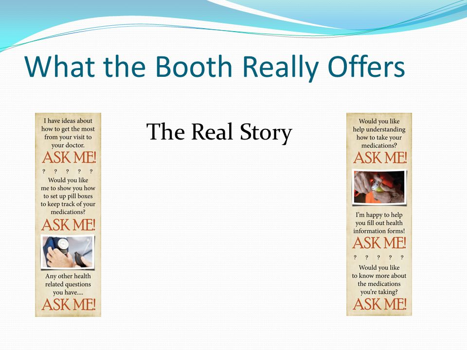 What the Booth Really Offers The Real Story