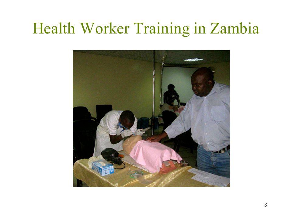Health Worker Training in Zambia 8
