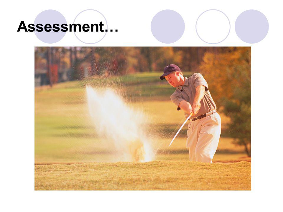 Assessment…
