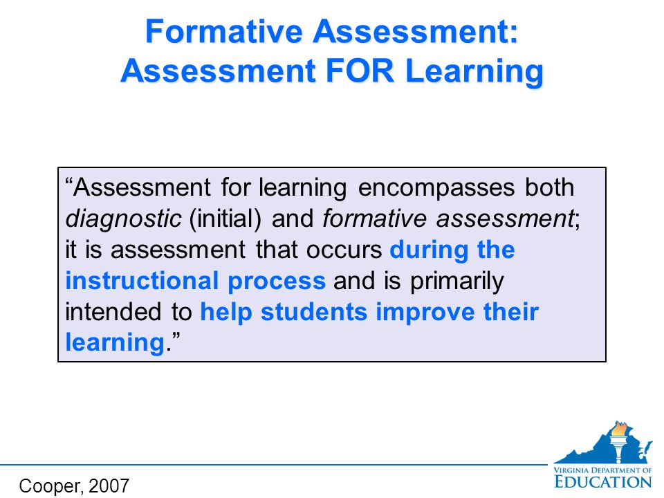Content Coverage Whether the assessment contains a rich enough sample of the chosen learning objectives For example: Are there enough questions on generating and testing hypotheses to evaluate students' abilities to generate and test hypotheses.