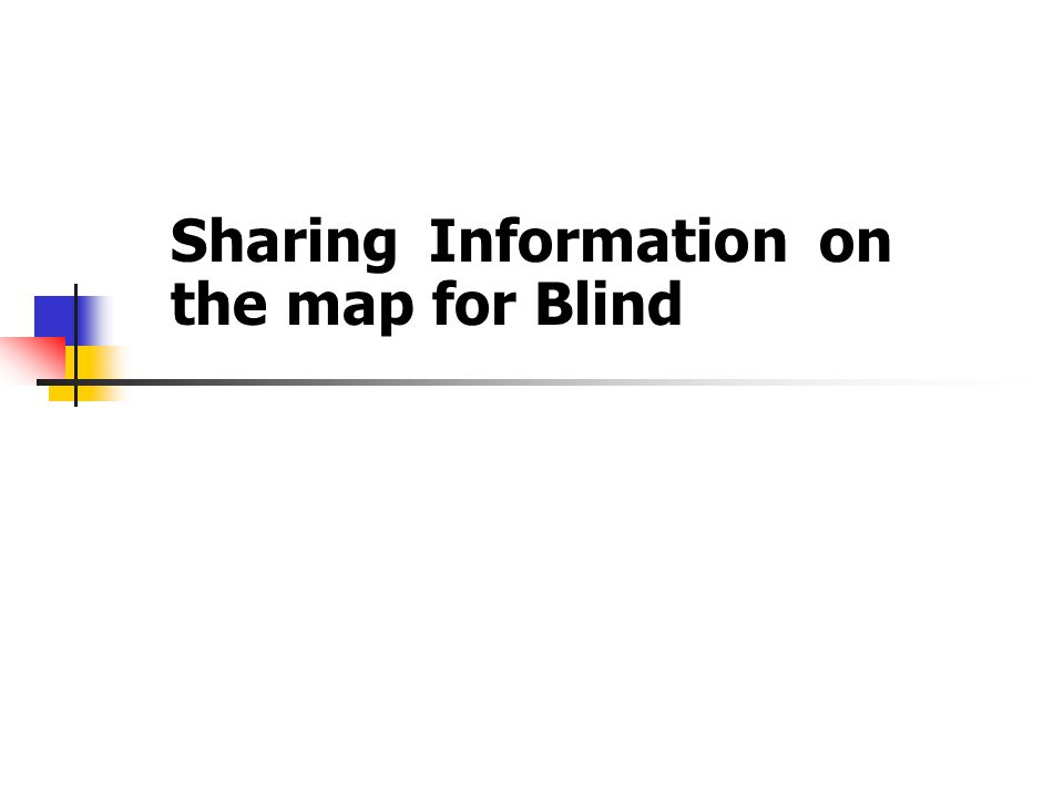 Introduction The need of information including spatial information or geospatial is a human right.