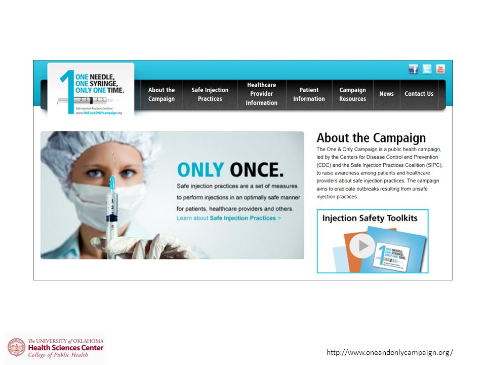 http://www.oneandonlycampaign.org/
