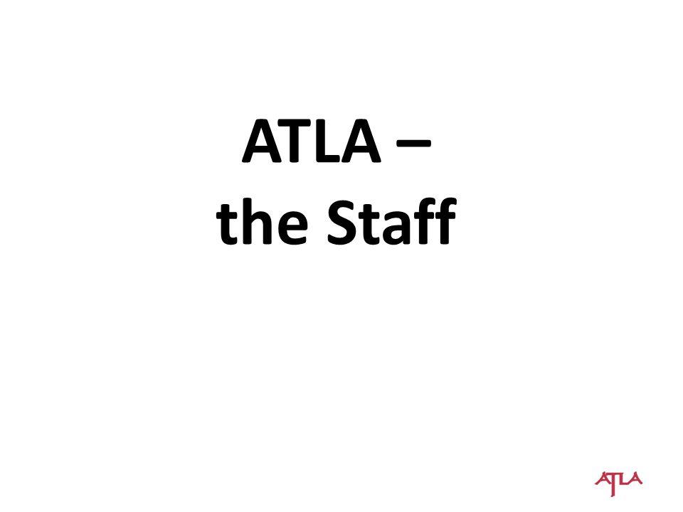 ATLA – the Staff