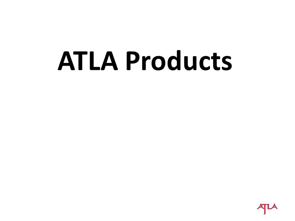 ATLA Committee Changes  Publications Committee  Will be eliminated
