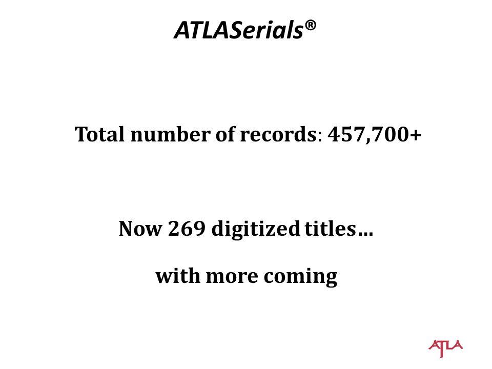 ATLA – the Association