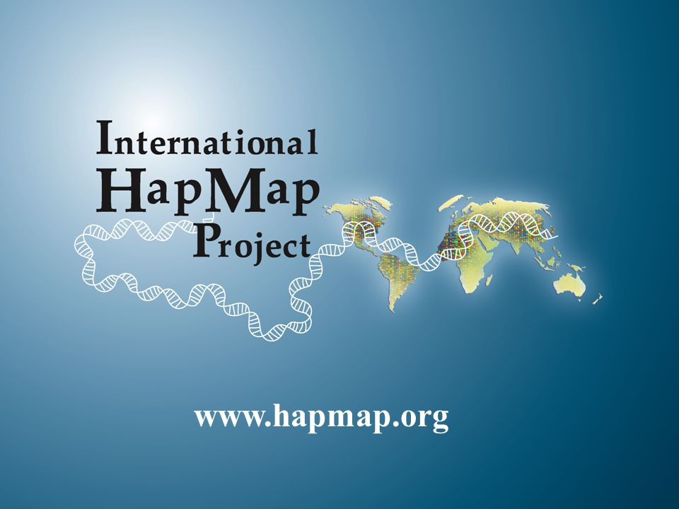 15 www.hapmap.org