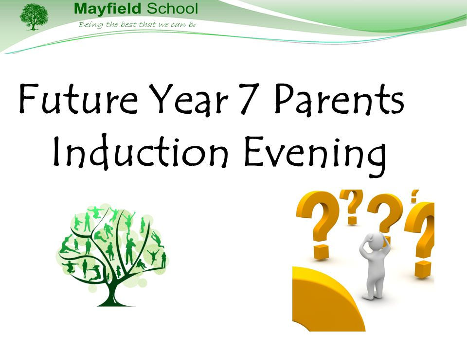 Future Year 7 Parents Induction Evening