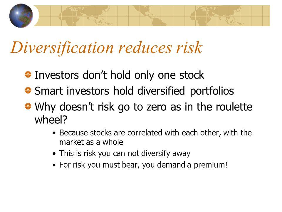 What measures non-diversifiable risk.