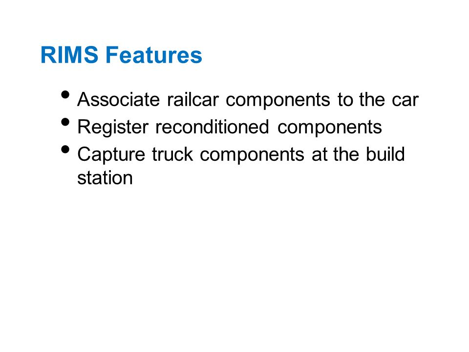 Current CEPM Components
