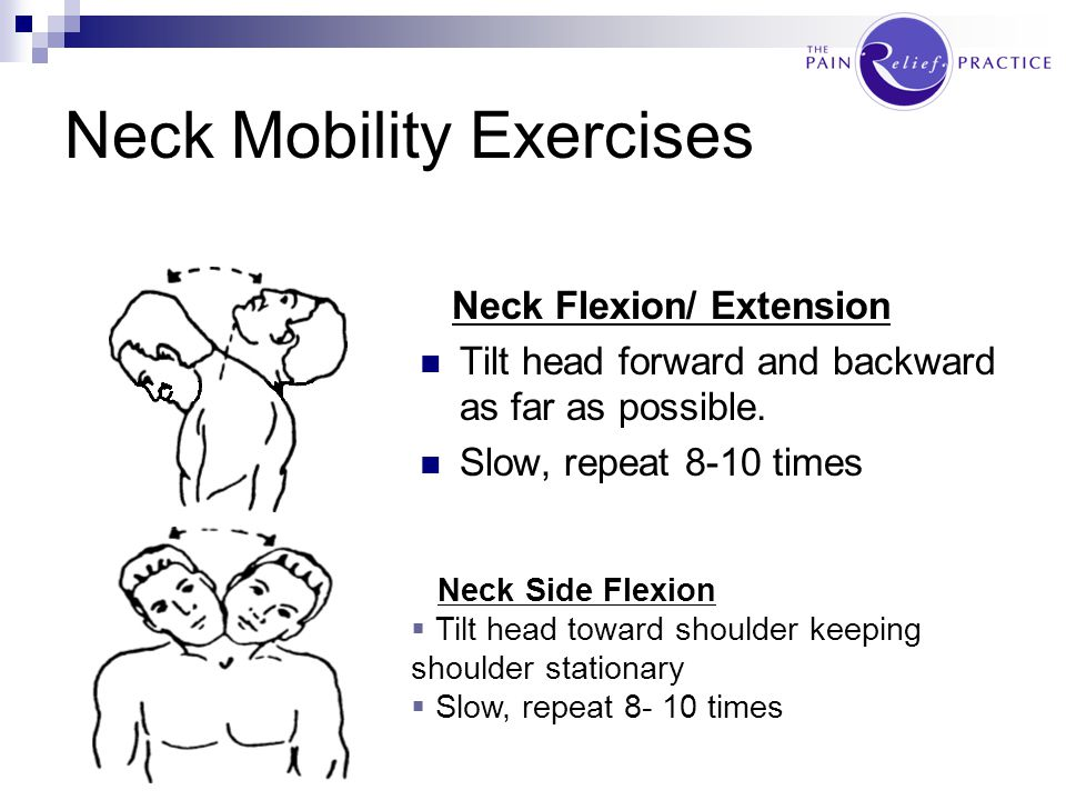PRACTICAL Neck Mobility Exercises Neck Strengthening Exercises Back Mobility Exercises Back Strengthening Exercises DISCLAIMER: Exercises shown should