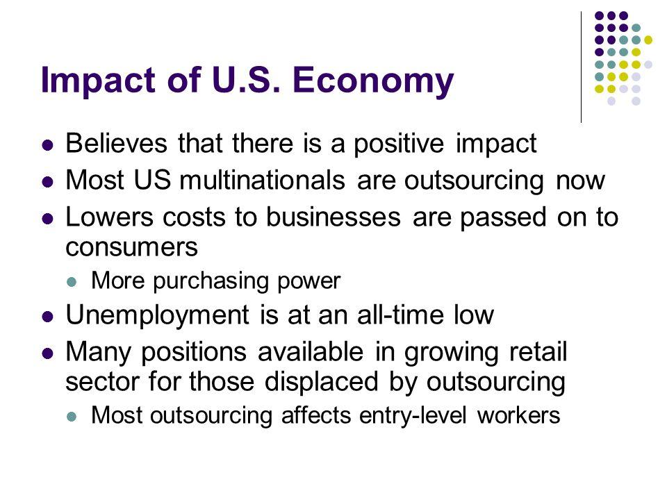 Impact of U.S.
