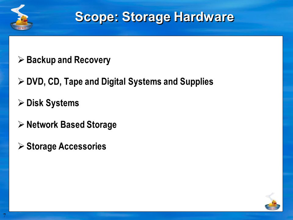 8 Scope: AV / Conferencing  AV Equipment and Accessories  Cameras, Display Monitors, Consoles, etc.