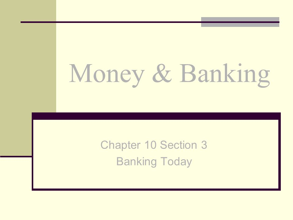 Money & Banking The largest source of income for banks is the interest rates that they charge their customers.