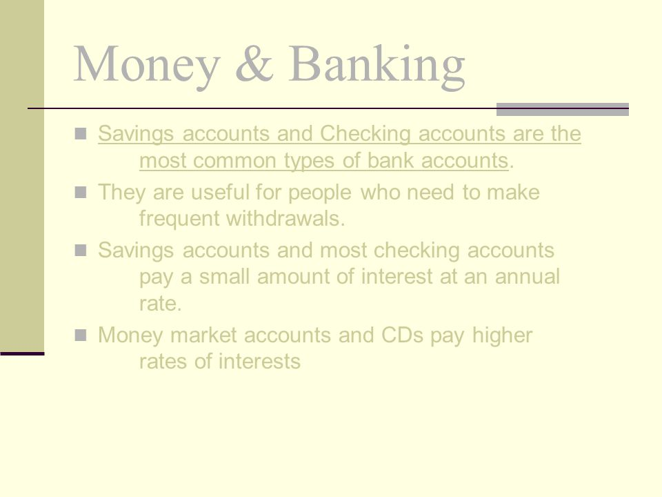 Money & Banking Home Banking Automatic Clearing Houses (ACHs) located on the floor of the Fed and their branches allow customers to pay bills without writing checks.