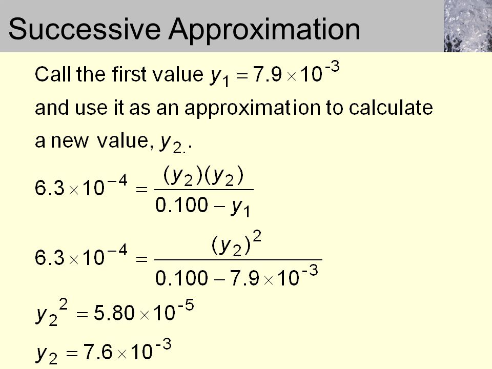 Successive Approximation