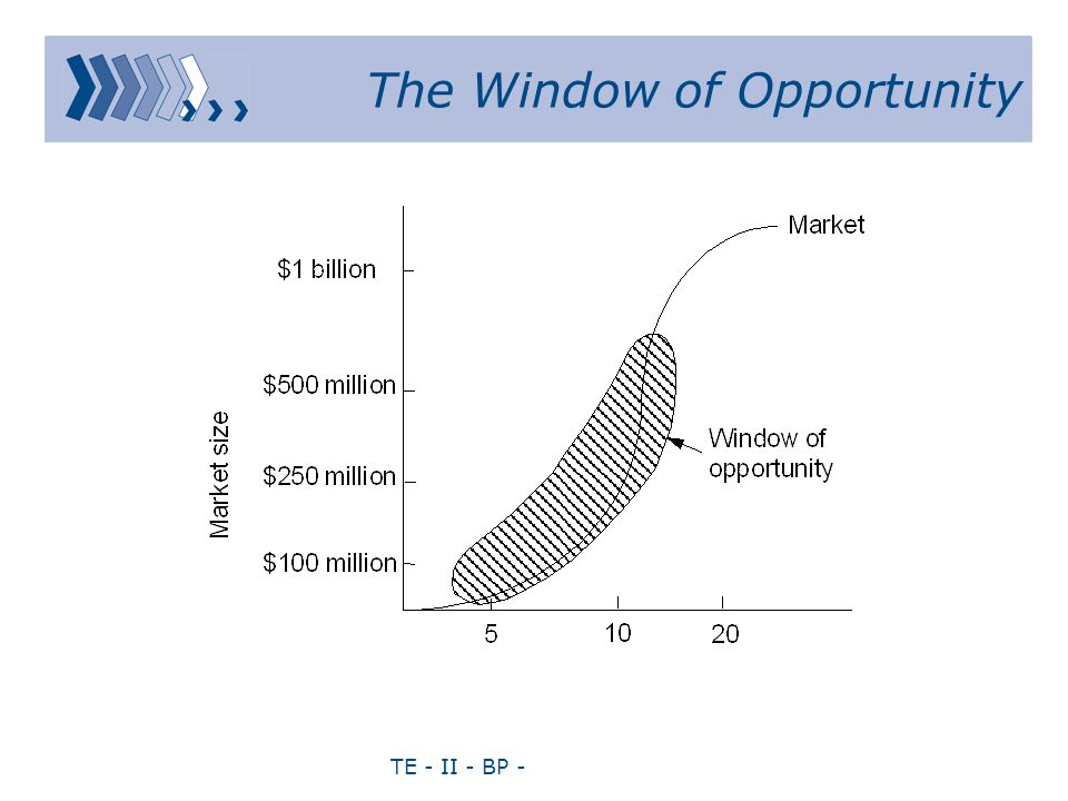 TE - II - BP - The Window of Opportunity