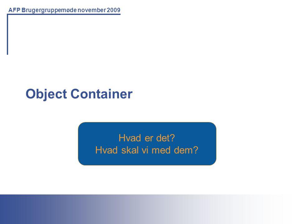 Printing Solutions For the IBM Environment AFP Brugergruppemøde november 2009 Hvad er det.