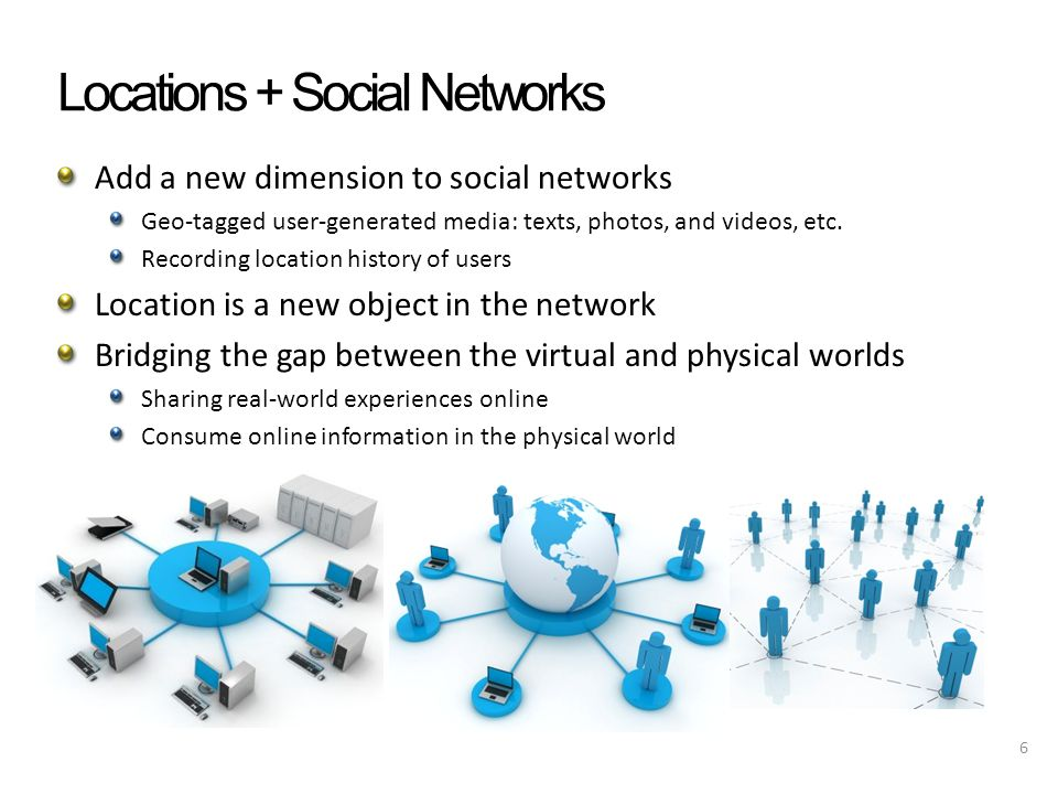 Examples 7 Physical world Virtual world Sharing & Understanding Generating & Consuming Interactions