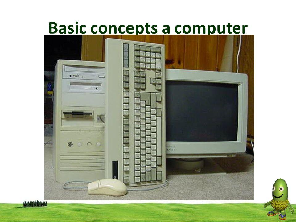 Basic concepts a computer