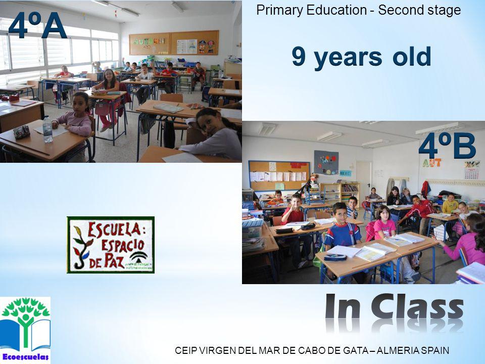 Primary Education - Second stage CEIP VIRGEN DEL MAR DE CABO DE GATA – ALMERIA SPAIN