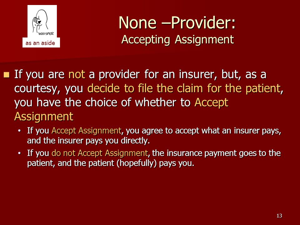 12 Should You Become a Provider.