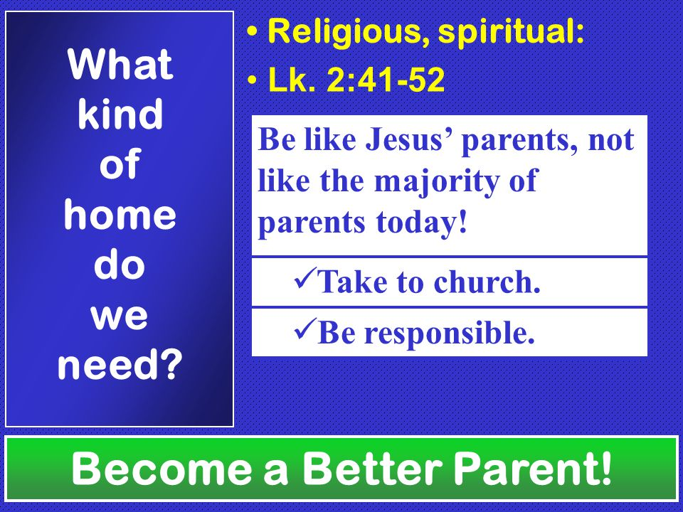 Deut.11:18-20 Heb. 13:15 Become a Better Parent. How should we talk to our children.