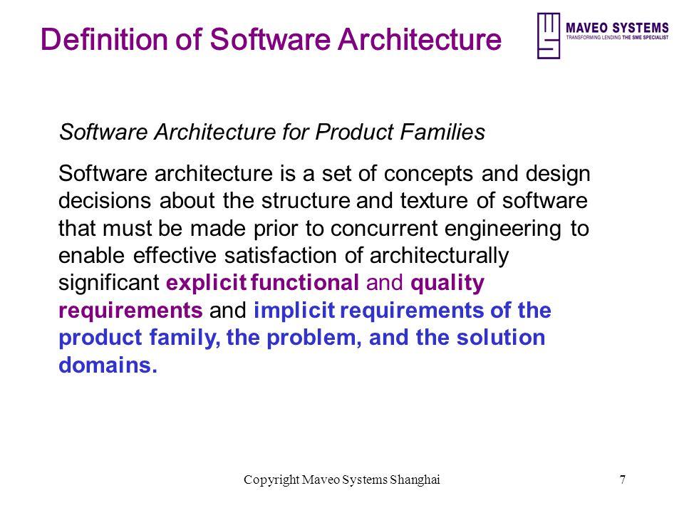 Copyright Maveo Systems Shanghai38