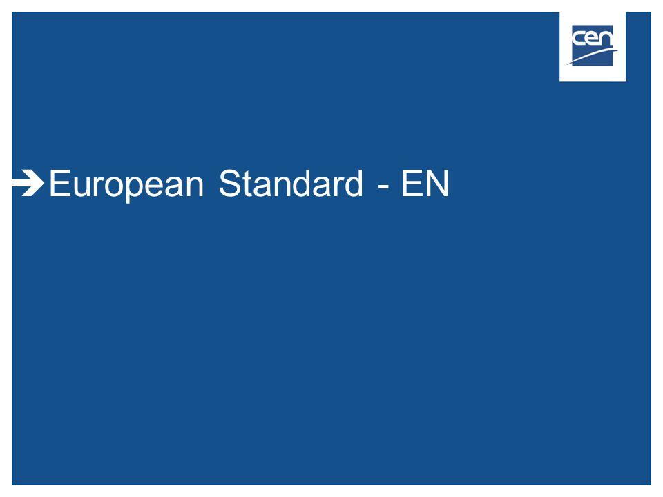  European Standard - EN