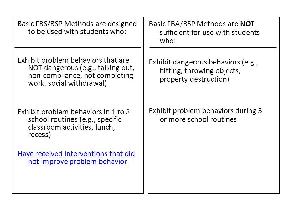 By the end of this module you should be able to: 1.Define observable behavior (What).