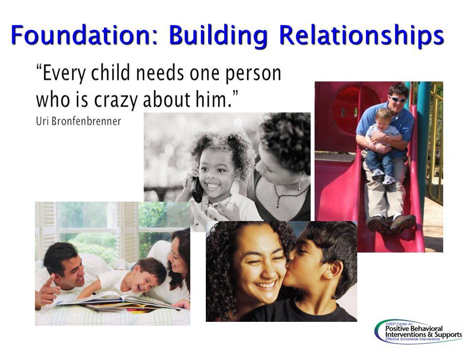 Foundation: Building Relationships
